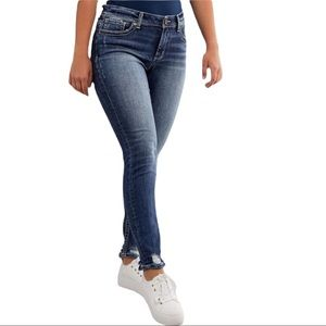 BKE Denim Gabby Ankle Skinny Jeans High Rise Curvy Fit NEW WITH TAGS Size 33